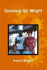 growing up wright book image