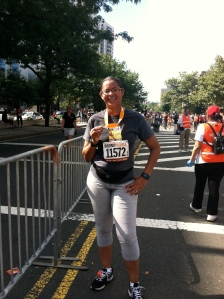 Picture from the 2012 Bronx 10 miler event