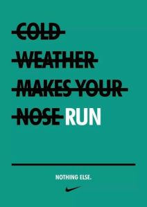 cold weather run