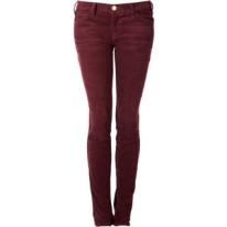 burgundy skinny jeans