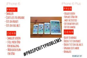 iPhone 6 vs 6Plus on http://runwright.net