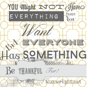 Something to be thankful for http://runwright.net