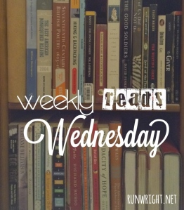 Weekly Reads Wednesday http---runwright.net