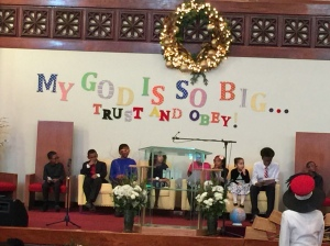 Children's Day at church
