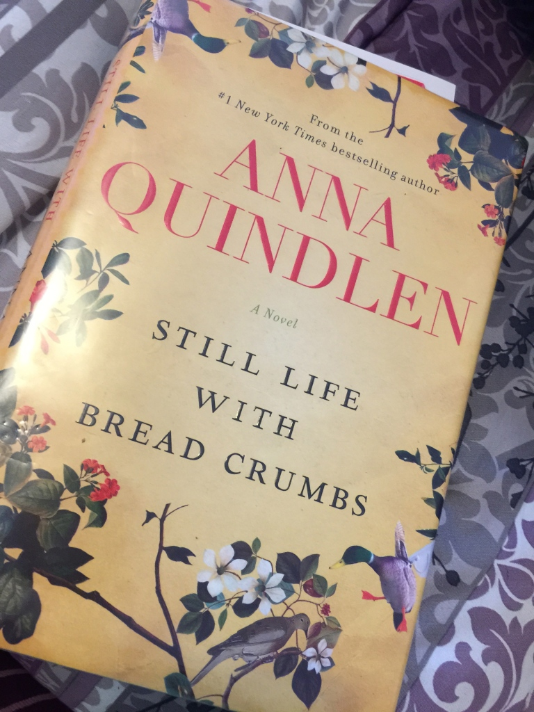 Anna Quindlen Still Life with Bread Crumbs http://ruwnright.net