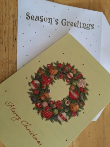 Addressing last minute holiday cards http://runwright.net