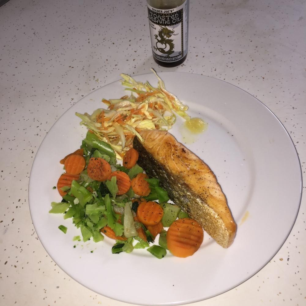 Salmon and veg http://runwright.net