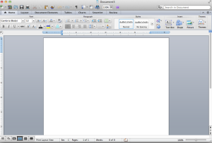 Don't be scared by the blank page
