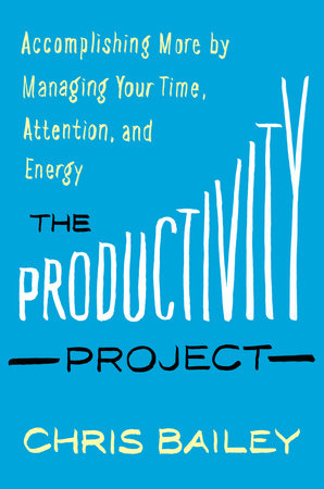 Chris Bailey turns a year long project into a life of productivity. Click for more tips on how to find out what time of day is most productive for you and how to use it to accomplish more with your time