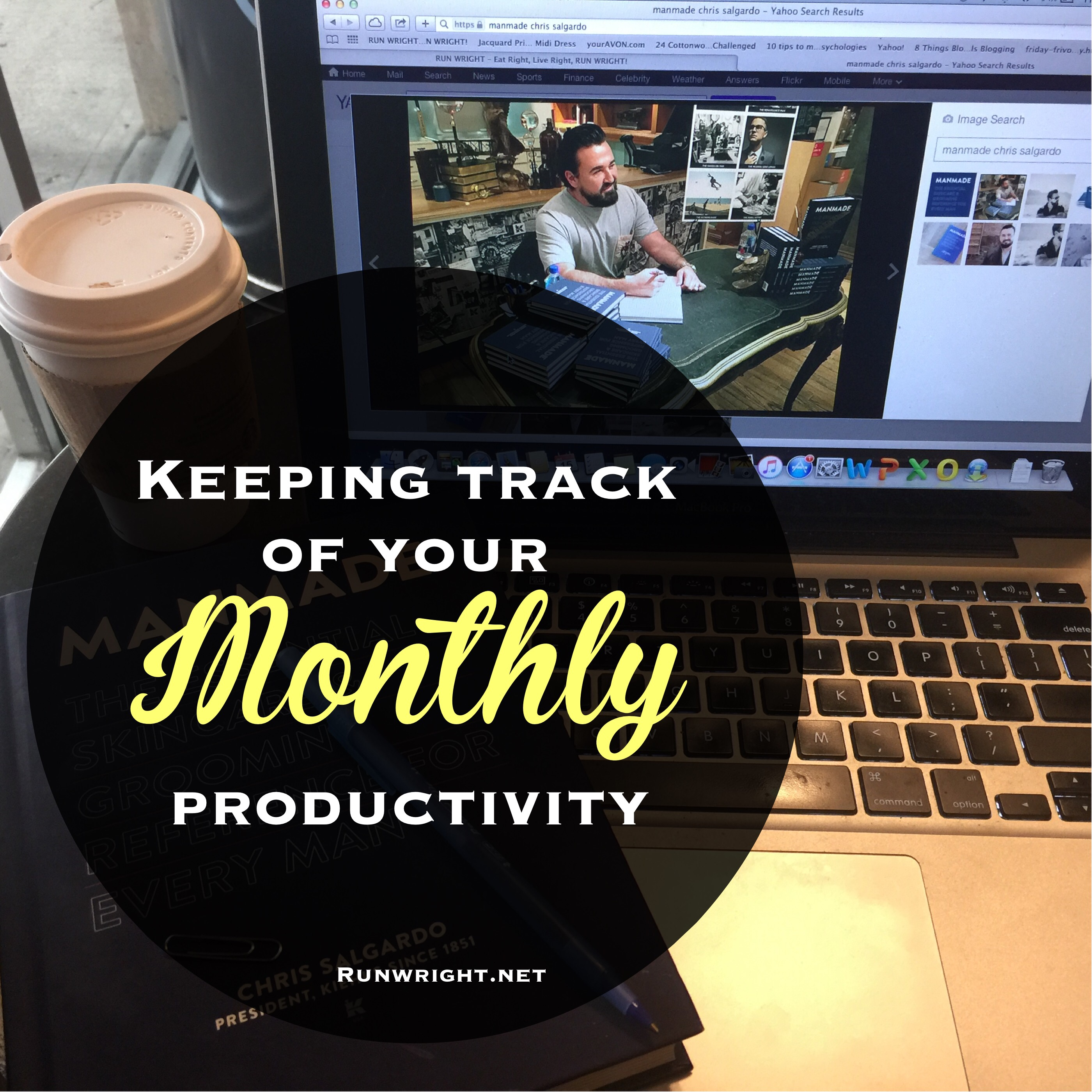 Keep track of your 2016 goals by assessing your monthly productivity.