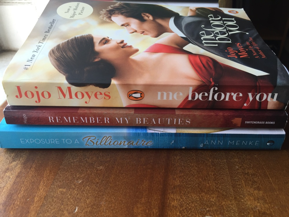 May 2016 Fiction book haul. This new cover of Jojo Moyes' bestselling book, Me Before You, was released to coincide with the movie