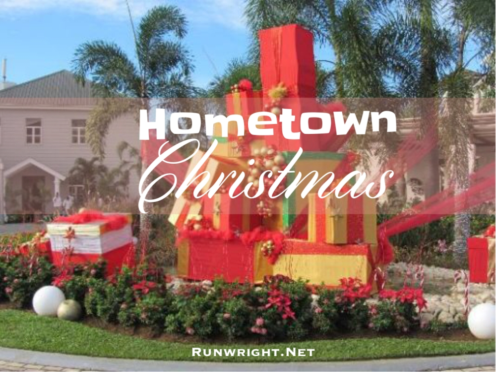 Hometown Christmas Original poem by Karen Wright