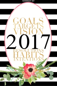 2017 Goals and Resolutions