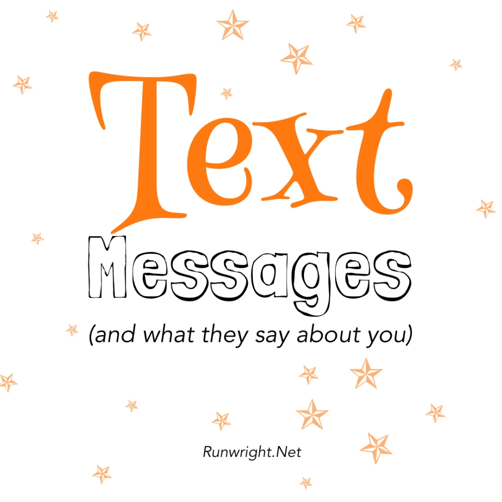 What your text messages say about you