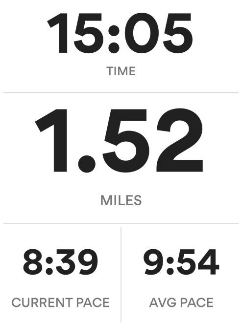 Easy non-stop run