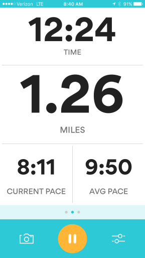 I ran this non-stop