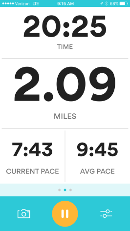 After 2 miles