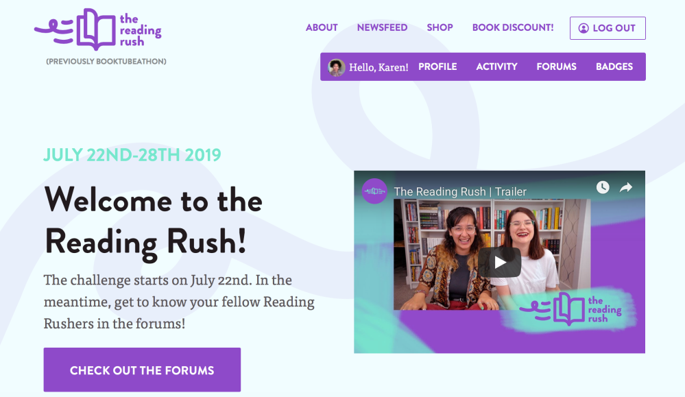 Reading Rush